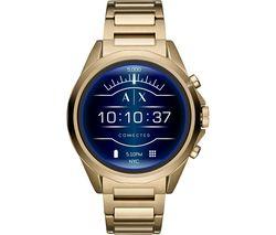 Drexler AXT2001 Smartwatch - Gold, Stainless Steel Strap, 48 mm