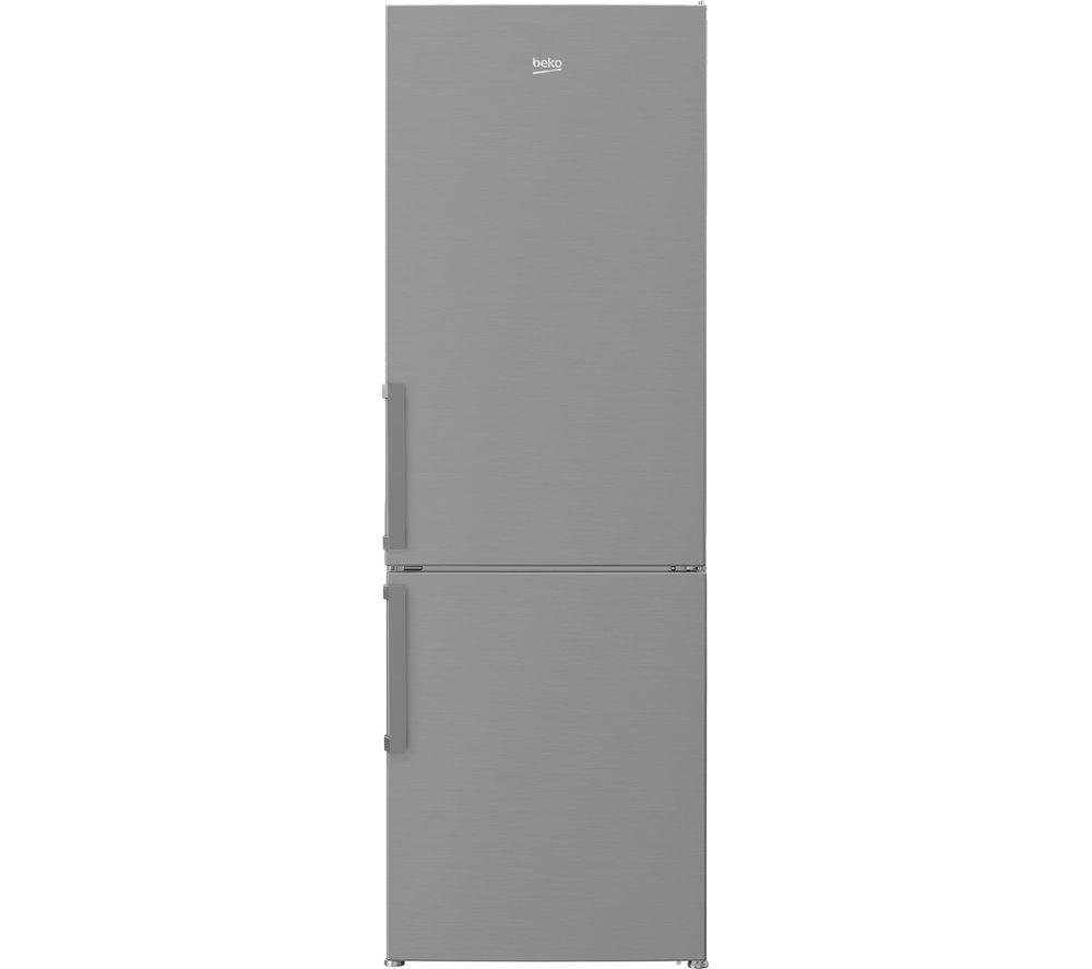 BEKO CSP3685PS 60/40 Fridge Freezer - Stainless Steel