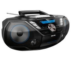 AZB798T/12 DAB/FM Boombox - Silver & Black