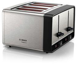 DesignLine TAT5P440GB 4-Slice Toaster – Silver