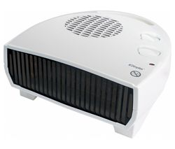 DXFF30TSN Portable Hot & Cold Fan Heater - White