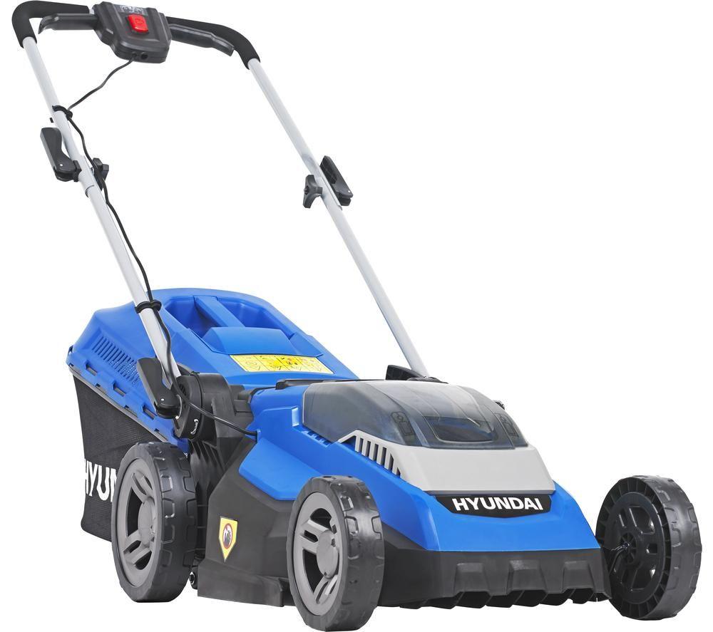 HYUNDAI HYM40LI380P Cordless Rotary Lawn Mower - Blue
