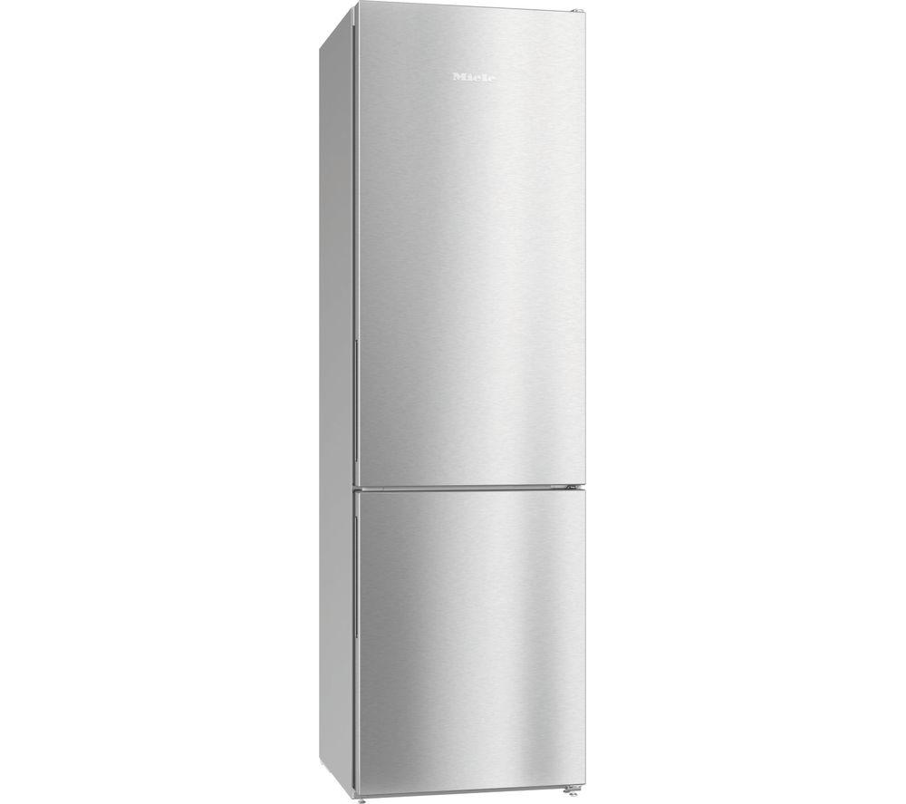 MIELE KFN 29162D 60/40 Fridge Freezer - Clean Steel