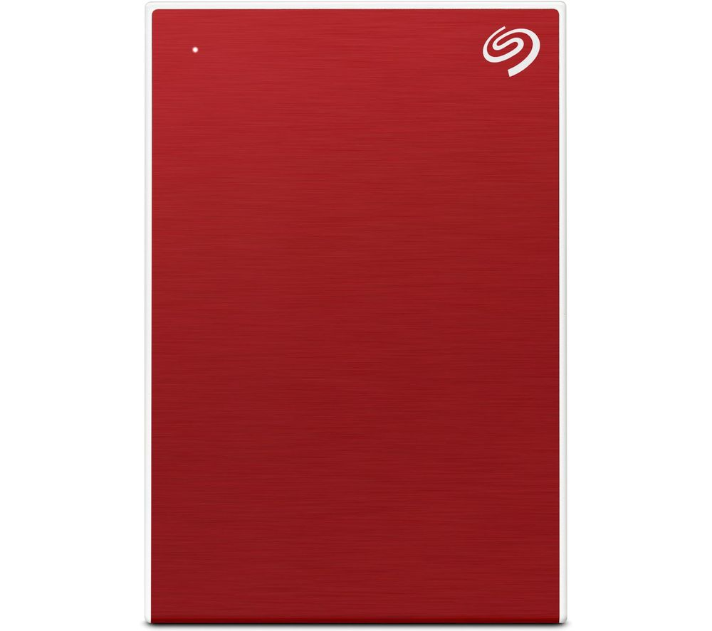 Image of Seagate One Touch Portable 2 TB 2.5 external hard drive USB 3.2 Gen 1 (USB 3.0) Red STKB2000403
