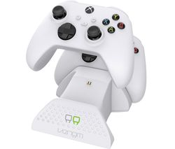 VS2871 Xbox Series X/S Twin Docking Station - White