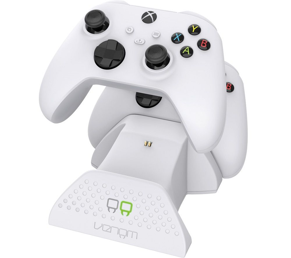VENOM VS2871 Xbox Series X/S Twin Docking Station - White