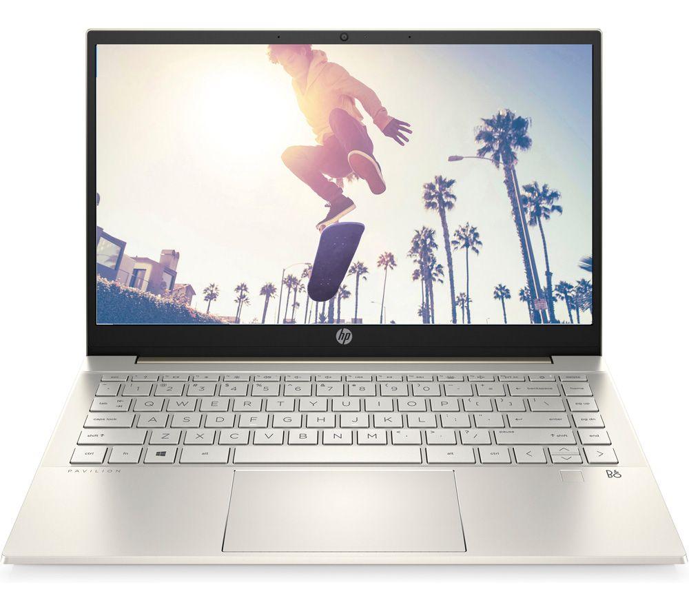 "HP Pavilion 14-dv0595sa 14"" Laptop - Intel® Core™ i3, 256 GB SSD, Gold"