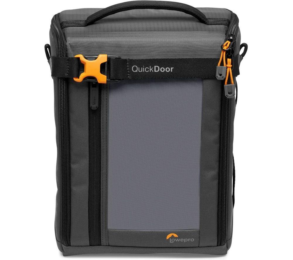 LOWEPRO GearUp Creator Box XL II DSLR Camera Bag - Grey & Orange