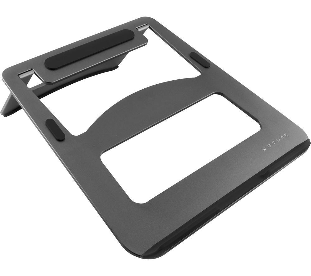 MOYORK Lumo Aluminium Laptop Stand - Grey