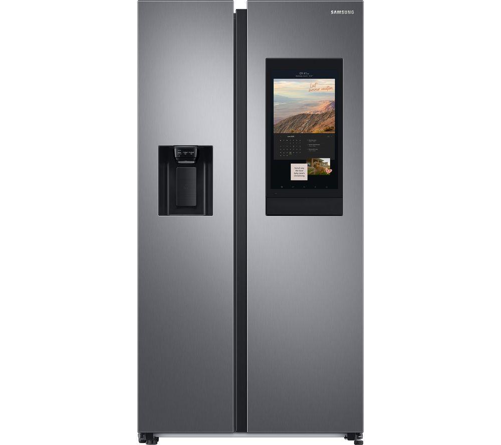 SAMSUNG RS68HA8880S9/EU American-Style Smart Fridge Freezer – Matte Stainless