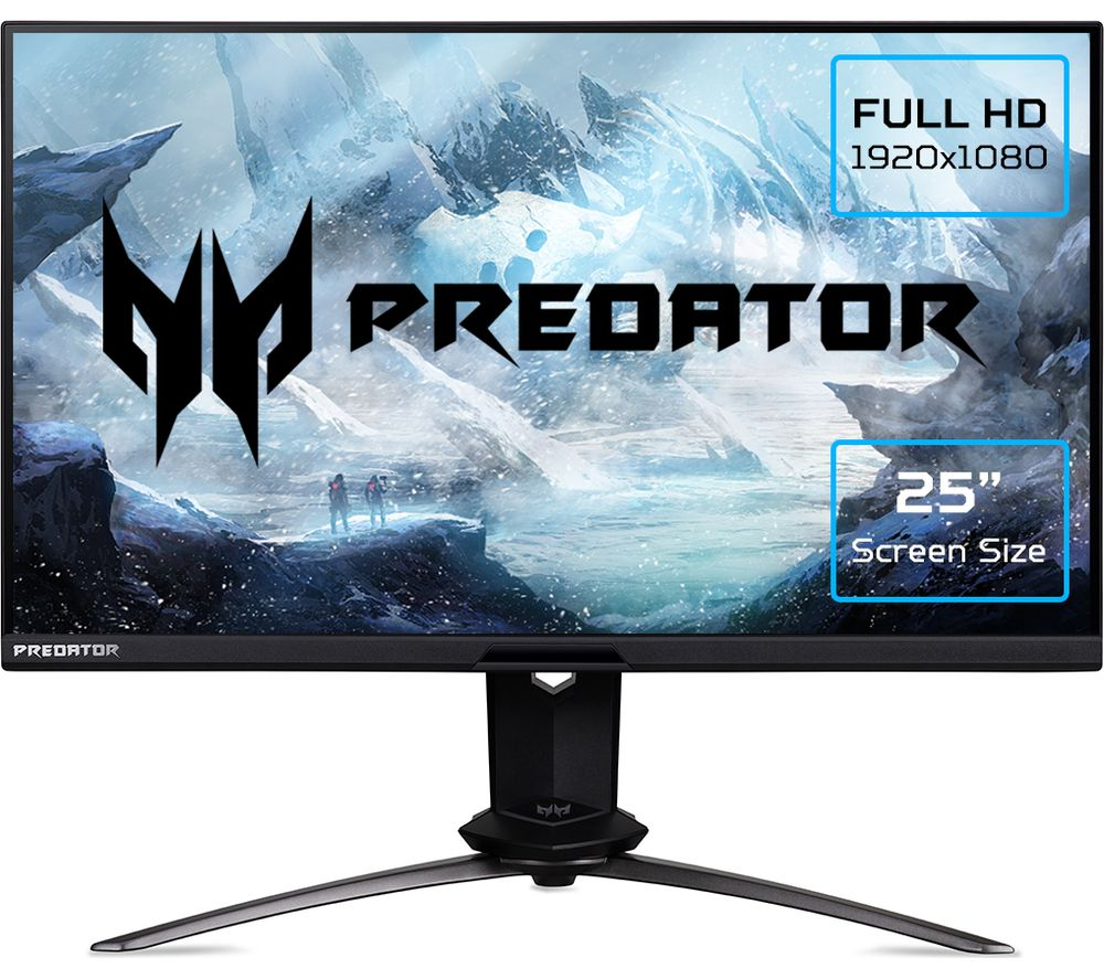 ACER Predator X25 Full HD 24.5inch IPS LCD Gaming Monitor - Black