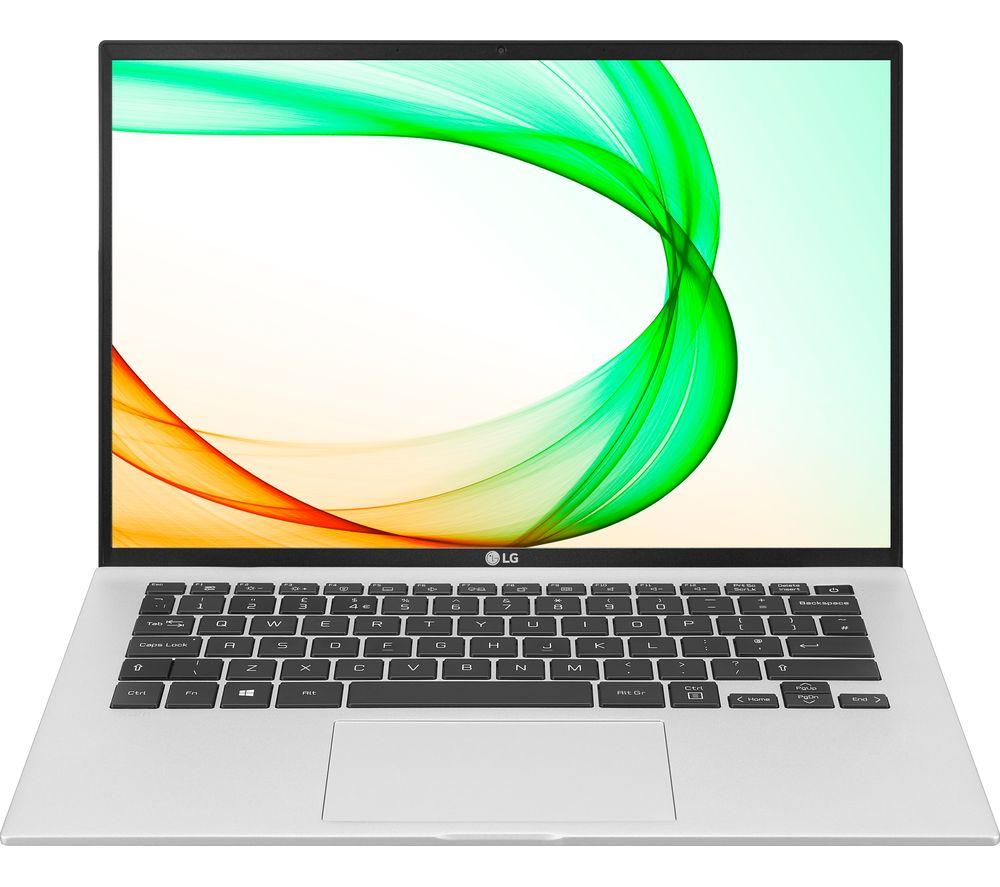 """LG GRAM 14Z90P 14"""" Laptop - Intel® Core™ i5, 256 GB SSD, Silver"""