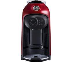 A Modo Mio Idola Coffee Machine - Fire Red