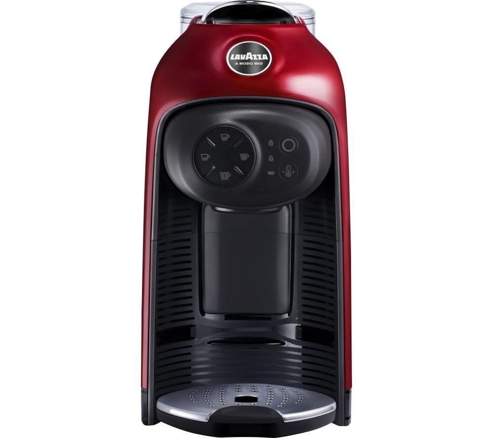 LAVAZZA A Modo Mio Idola Coffee Machine – Fire Red, Red