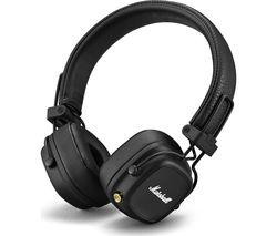 Major IV Wireless Bluetooth Headphones - Black