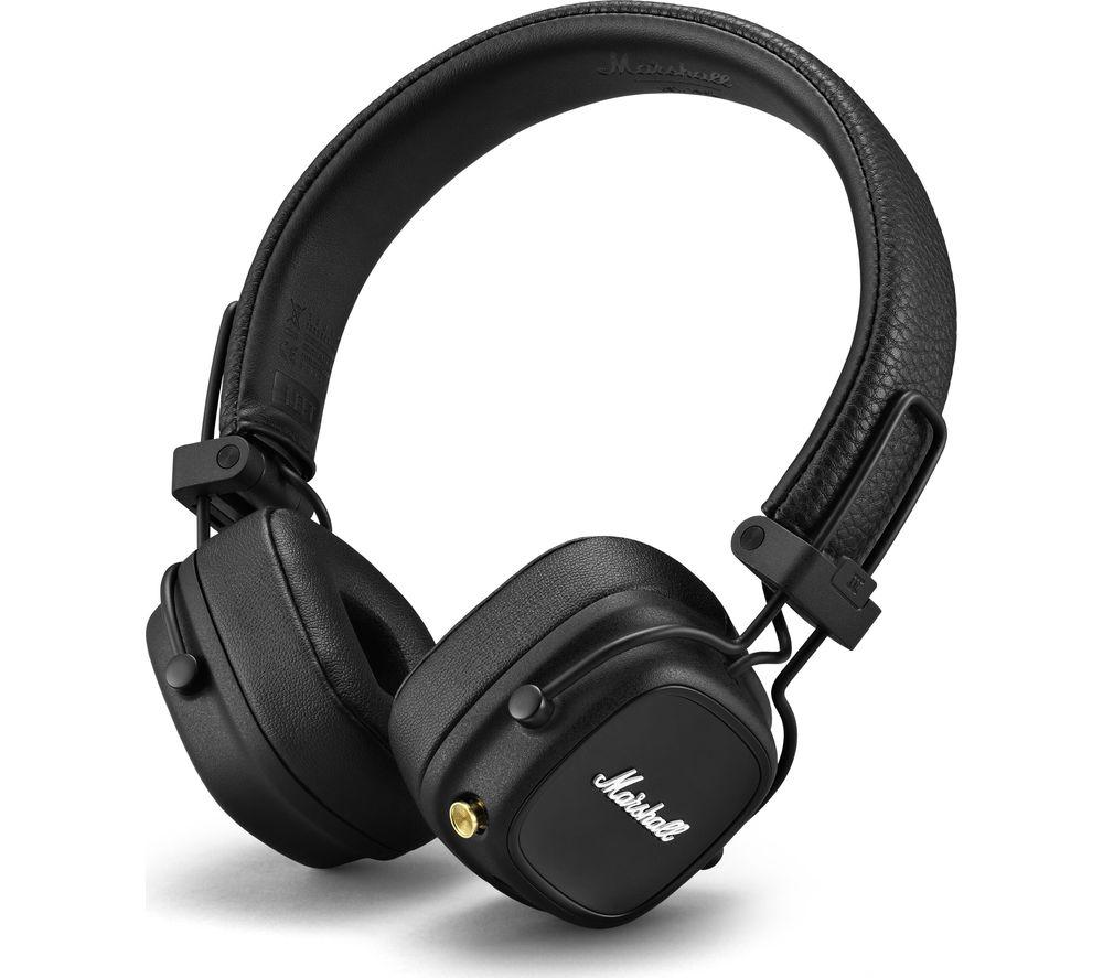 MARSHALL Major IV Wireless Bluetooth Headphones - Black