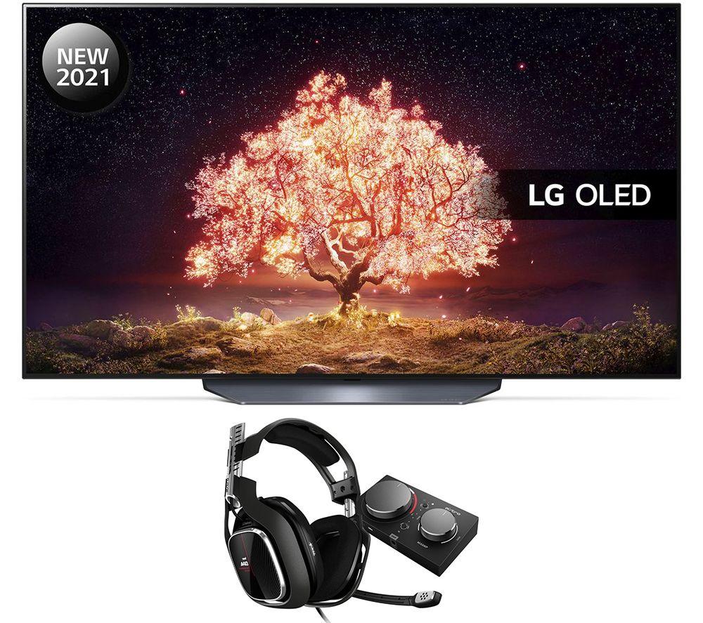 """Image of 77"""" LG OLED77B16LA Smart 4K TV, Astro Gaming Headset & MixAmp Pro Bundle"""