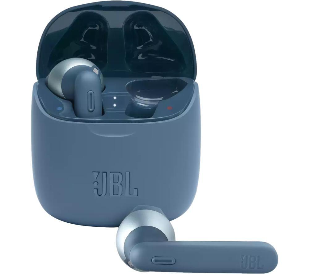 JBL Tune 225TWS Wireless Bluetooth Earbuds - Blue