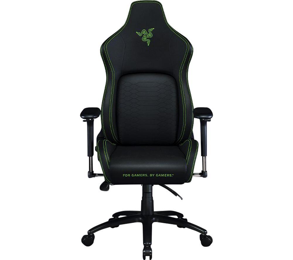 RAZER Iskur Gaming Chair - Black & Green