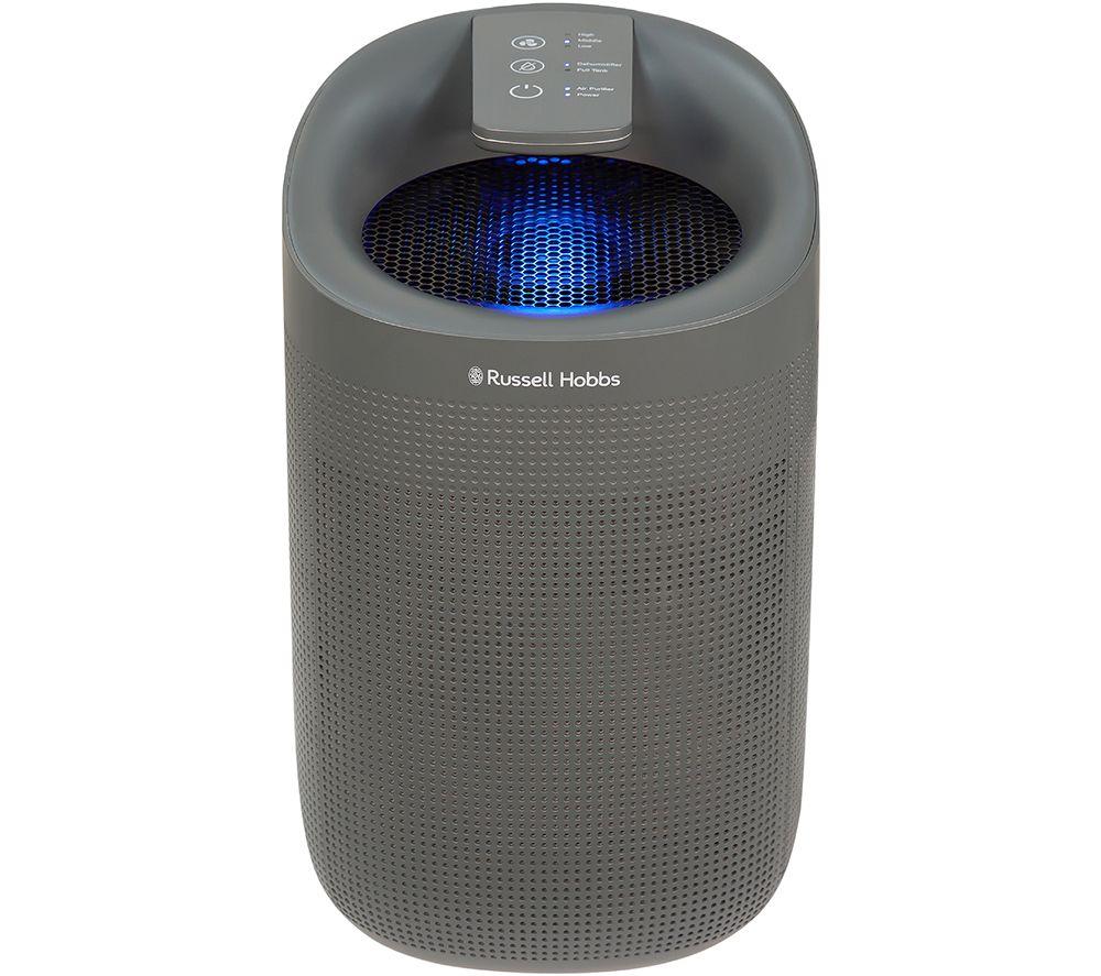 RUSSELL HOBBS Fresh Air Pro Portable Dehumidifier & Air Purifier