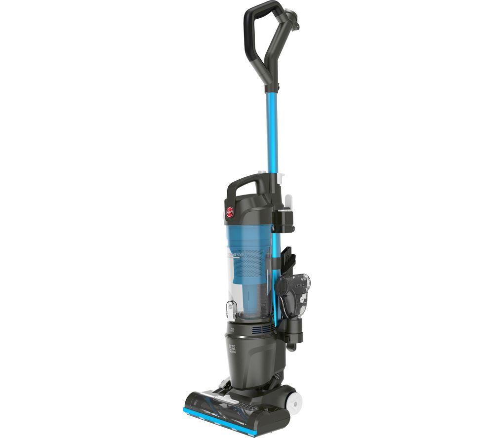 HOOVER Upright 300 Pets HU300UPT Bagless Vacuum Cleaner - Blue & Grey
