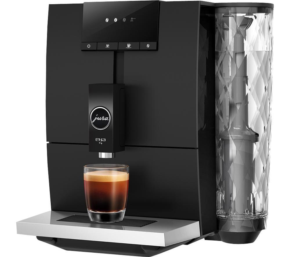 JURA ENA 4 Smart Bean to Cup Coffee Machine ? Black, Black