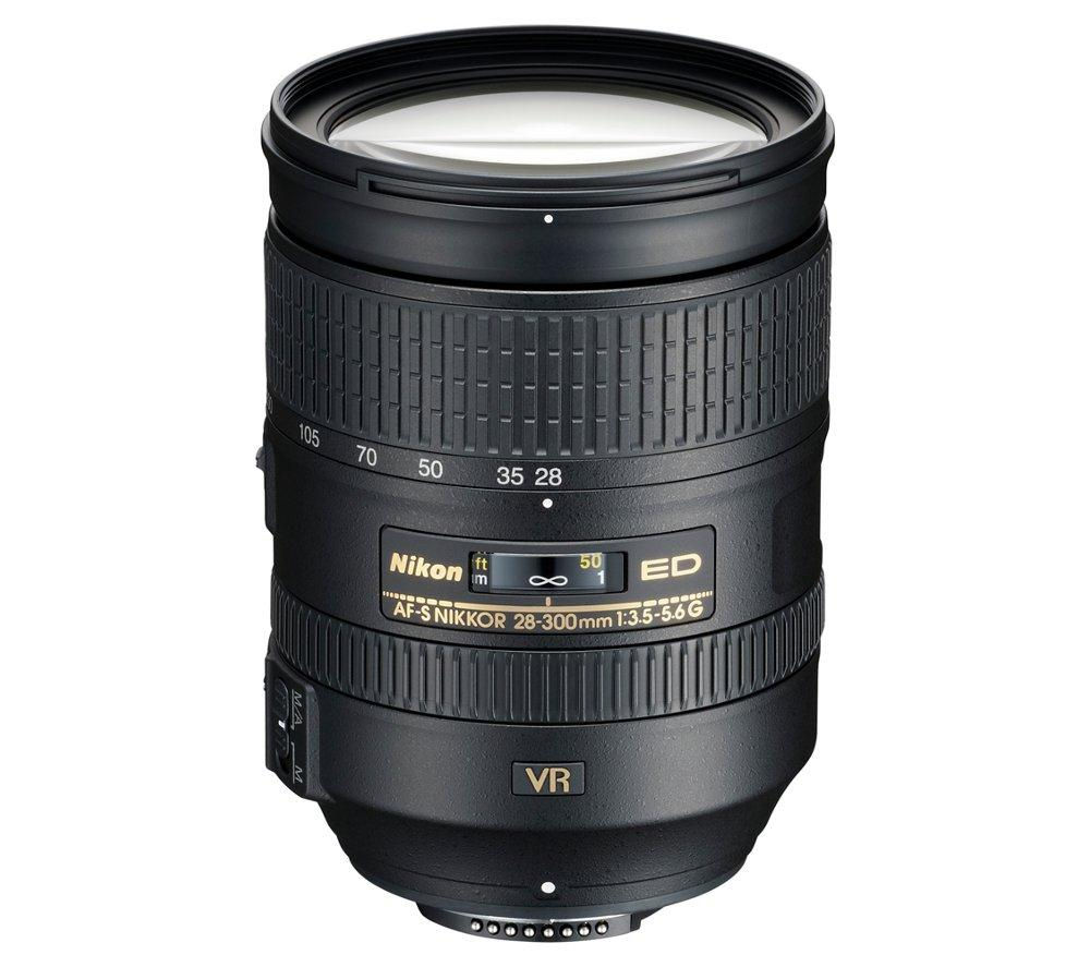 NIKON AF-S NIKKOR 28-300 mm f/3.5 - 5.6 SWM ED VR II IF Telephoto Zoom Lens + DSLR Cleaning Kit