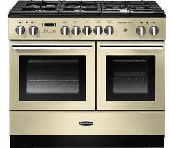 Professional+ FX 100 Dual Fuel Range Cooker - Cream & Chrome
