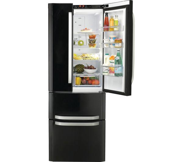 Buy Hotpoint Quadrio Combi Ffu4dk Fridge Freezer Black