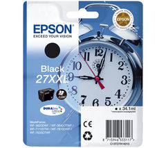 EPSON Alarm Clock 27XXL Black Ink Cartridge