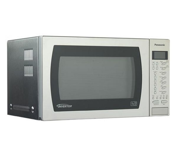 Panasonic Nnst479sb Compact Solo Microwave Stainless Steel