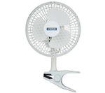 "STATUS 6"" Clip Desk Fan - White"