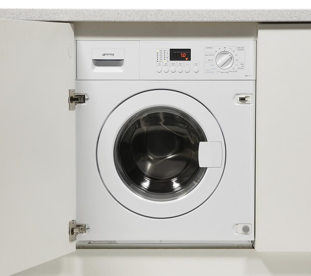 SMEG WDI147D-1 Integrated Washer Dryer