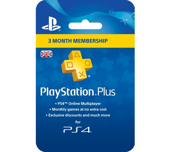 Image of SONY PlayStation Plus 3 Month Subscription