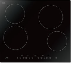 LOGIK LCHOBTC16 Electric Ceramic Hob - Black Best Price, Cheapest Prices