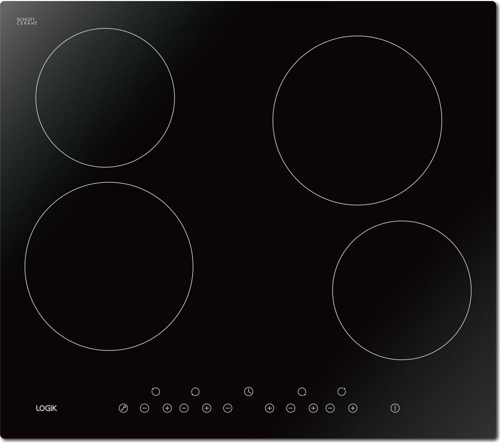 LOGIK  LCHOBTC16 Electric Ceramic Hob - Black, Black