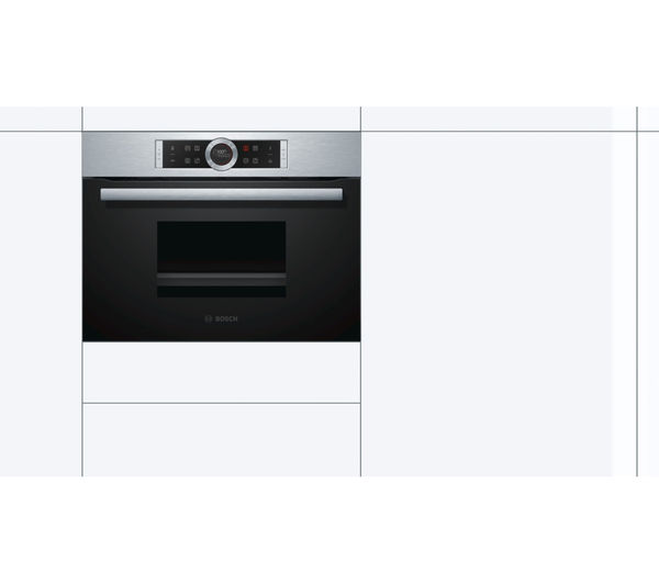 Buy Bosch Cdg634bs1b Compact Electric Steam Oven Stainless Steel