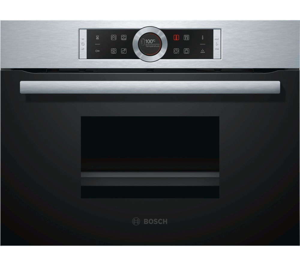 Compare retail prices of Bosch CDG634BS1B Compact Electric Steam Oven Stainless Steel to get the best deal online