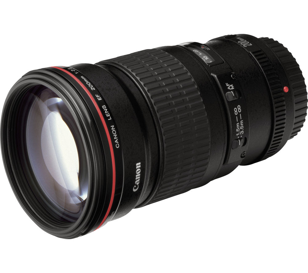 Compare cheap offers & prices of Canon EF 200mm f-2.8 L USM II Telephoto Prime Lens manufactured by Canon