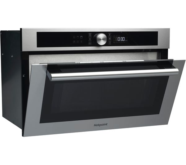 Hotpoint Cl 4 Md 454 Ix H Built In Microwave With Grill Stainless Steel