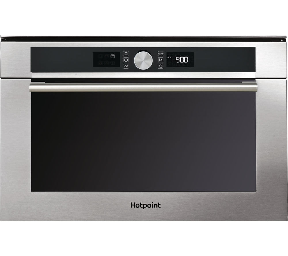 HOTPOINT Class 4 MD 454 IX H Built-In Microwave with Grill - Stainless Steel