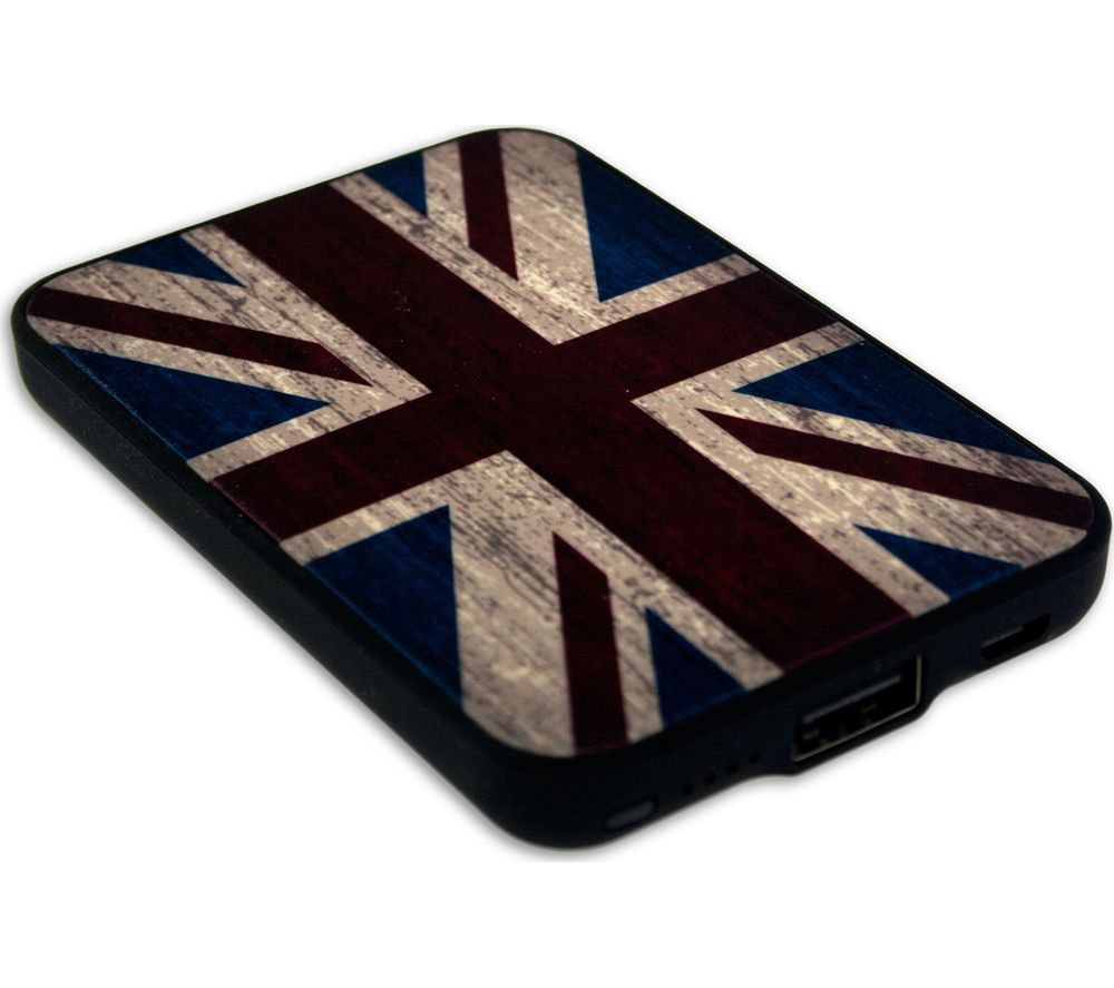 JACK & CABLES Union Jack Portable Power Bank
