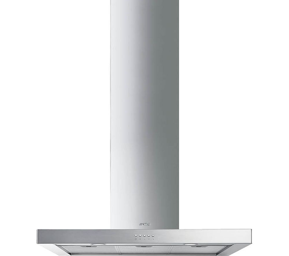 SMEG KS90XE-2 Chimney Cooker Hood - Stainless Steel