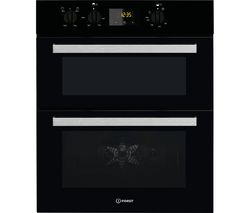 Aria IDU 6340 BL Electric Built-under Double Oven - Black