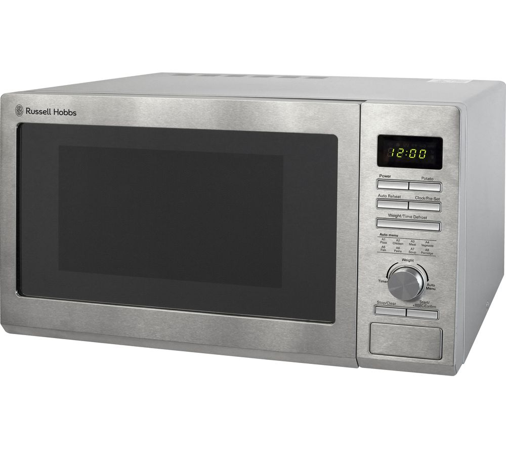 RUSSELL HOBBS RHM2563 Solo Microwave - Stainless Steel