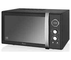 SWAN SM22080BN Microwave with Grill - Black