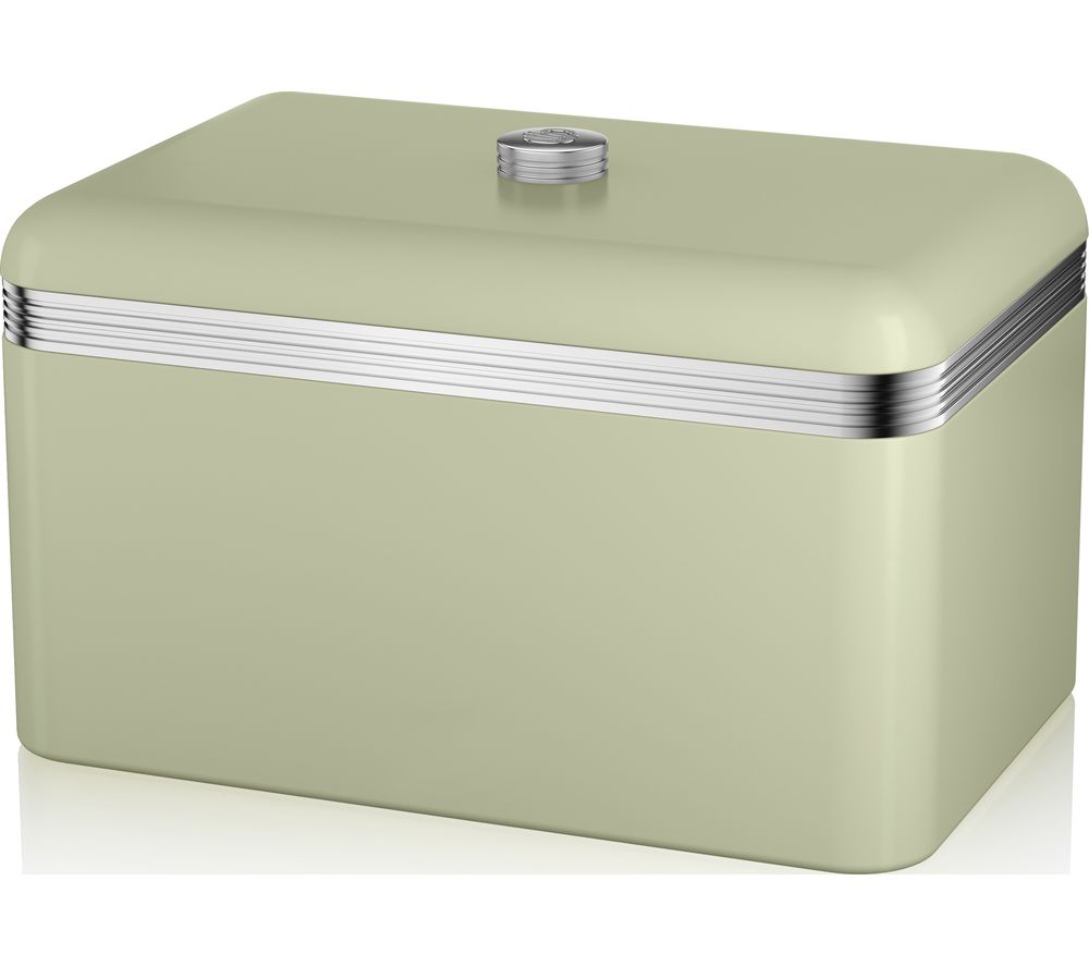 SWAN Retro Bread Bin - Green