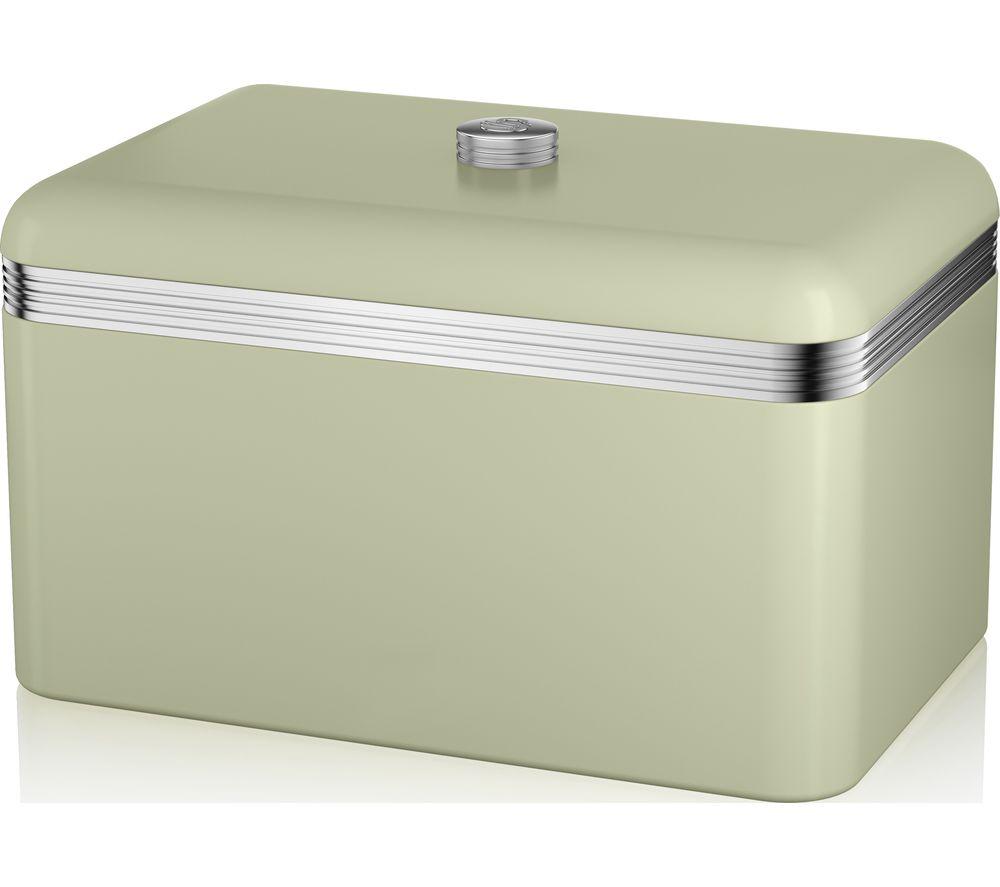 SWAN Retro Bread Bin - Green  sc 1 st  Currys & Buy SWAN Retro Bread Bin - Green | Free Delivery | Currys Aboutintivar.Com