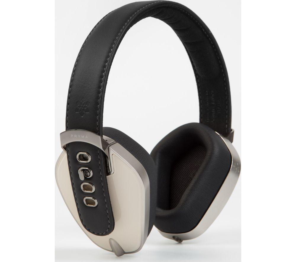 PRYMA HDP0108FIN Headphones - Black & Cream