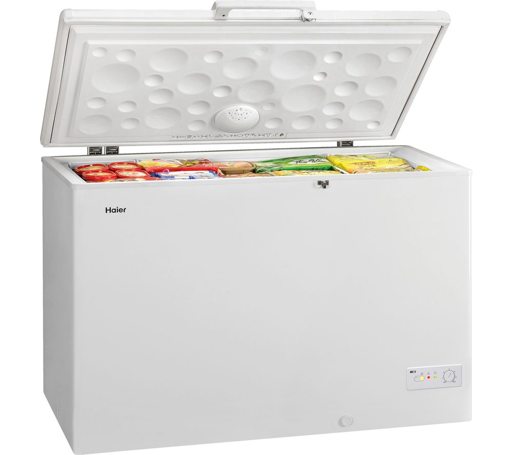 HAIER BD-519RAA Chest Freezer - White